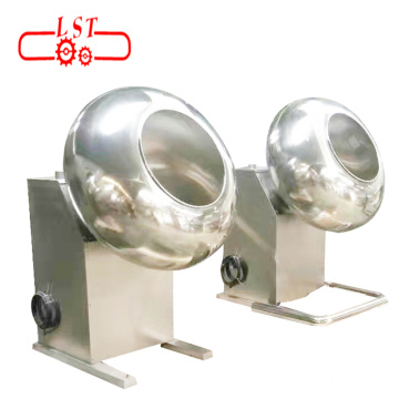 New design auto peanut table sugar chocolate coating pan machine